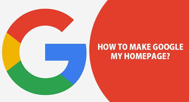 How To Make Google My Homepage In Any Browser Mozilla