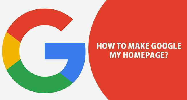 make-google-my-homepage